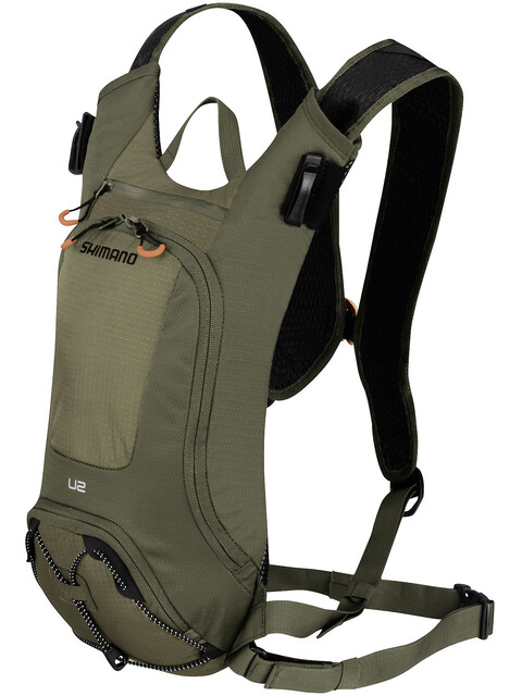 Shimano Unzen II Trail Backpack 2 L Olive Green